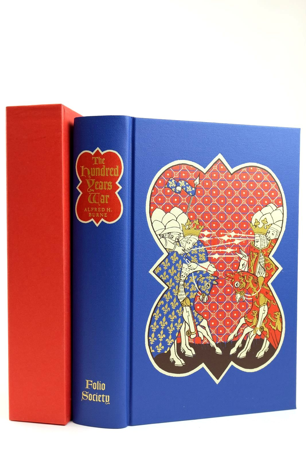 Photo of THE HUNDRED YEARS WAR written by Burne, Alfred H. Sumption, Jonathan published by Folio Society (STOCK CODE: 2132168)  for sale by Stella & Rose's Books