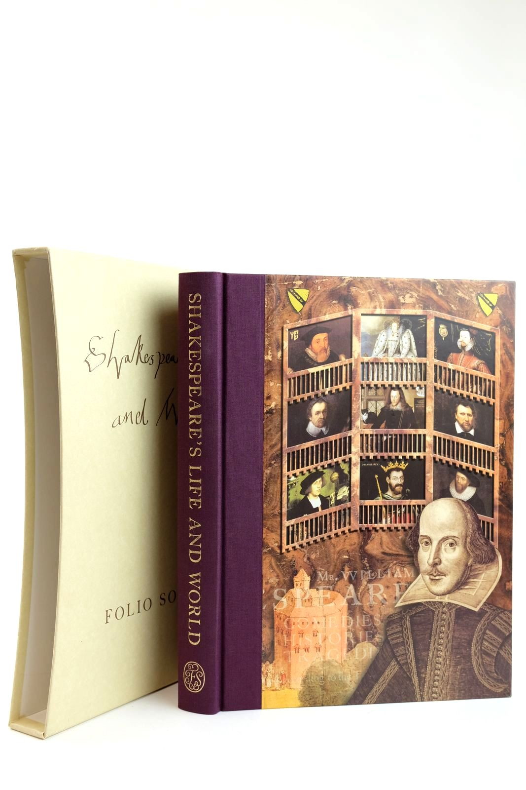 Photo of SHAKESPEARE'S LIFE AND WORLD written by Duncan-Jones, Katherine Shakespeare, William published by Folio Society (STOCK CODE: 2132169)  for sale by Stella & Rose's Books