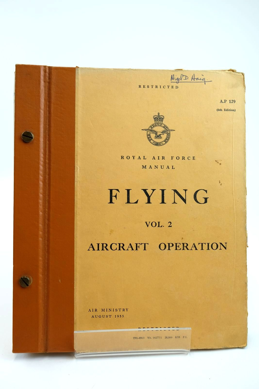 Photo of ROYAL AIR FORCE MANUAL FLYING VOL. 2 AIRCRAFT OPERATION published by Air Ministry (STOCK CODE: 2132185)  for sale by Stella & Rose's Books