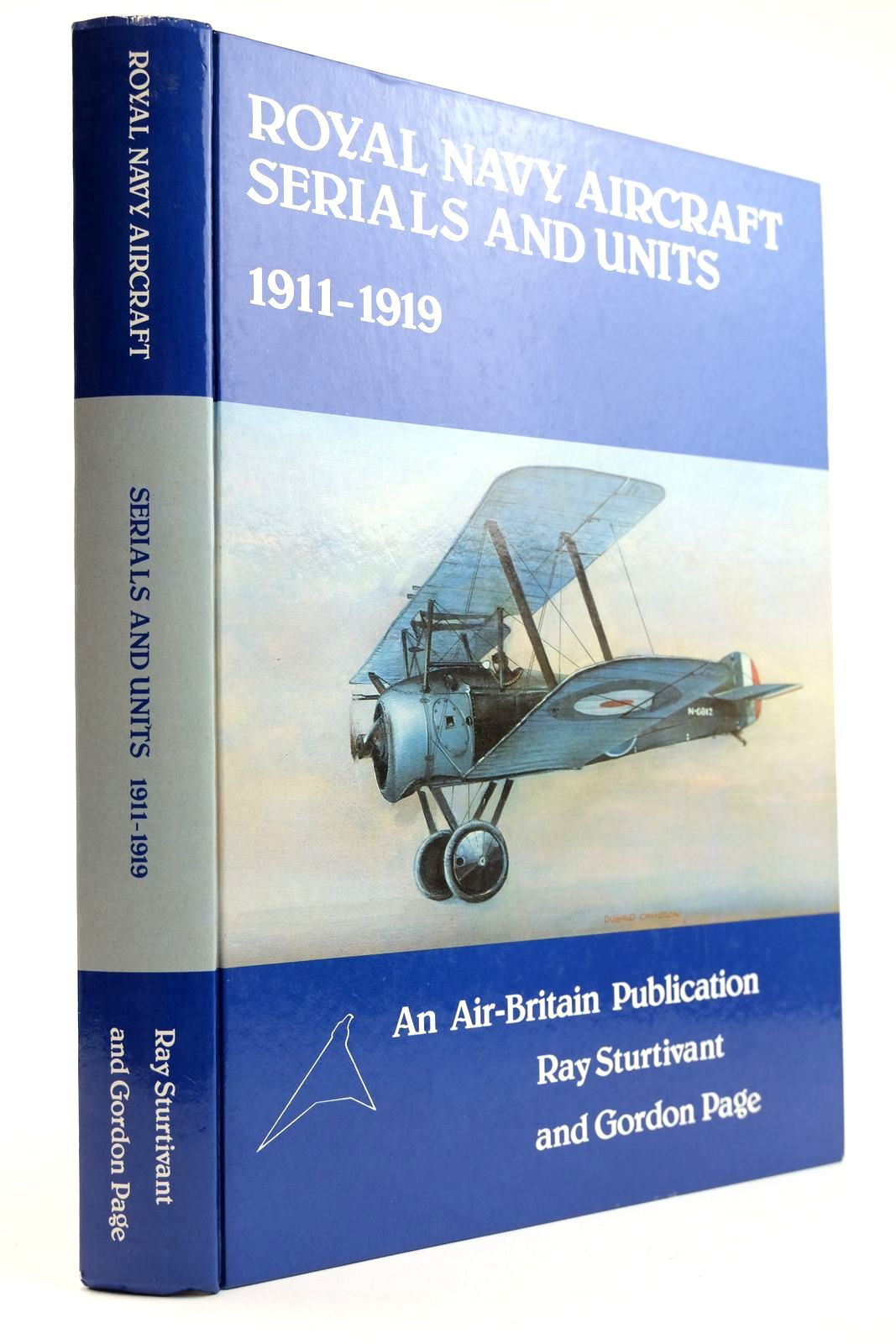 Photo of ROYAL NAVY AIRCRAFT SERIALS AND UNITS 1911-1919- Stock Number: 2132226