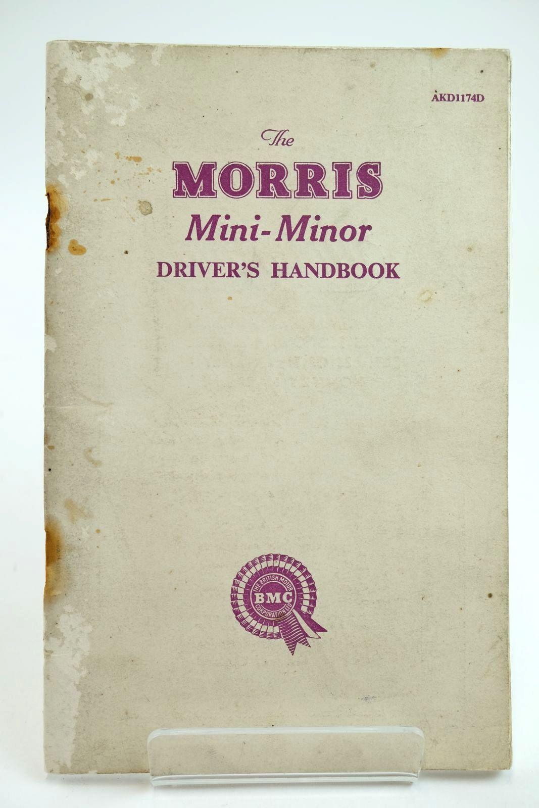 Photo of THE MORRIS MINI-MINOR DRIVER'S HANDBOOK published by Morris Motors Limited (STOCK CODE: 2132238)  for sale by Stella & Rose's Books