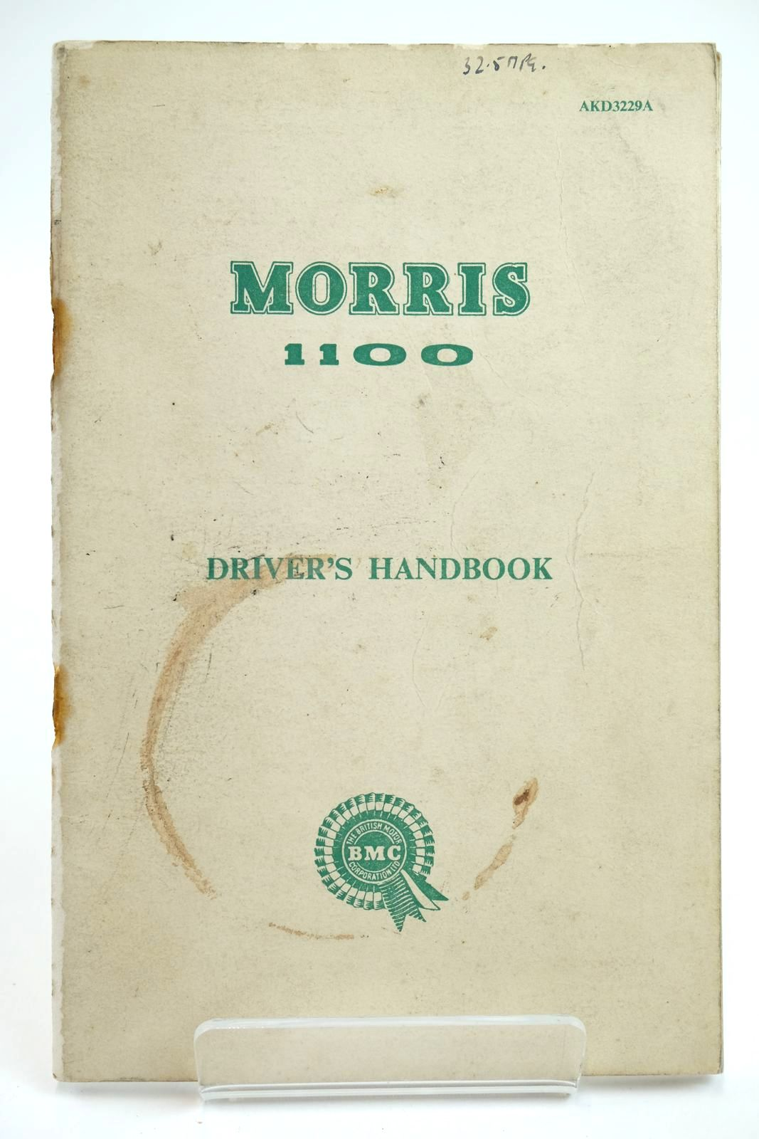 Photo of MORRIS 1100 DRIVER'S HANDBOOK- Stock Number: 2132240