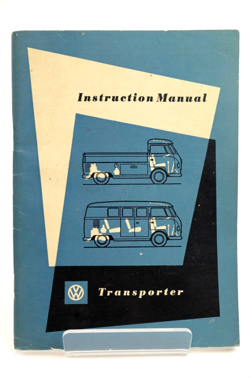 Photo of INSTRUCTION MANUAL VW TRANSPORTER- Stock Number: 2132249