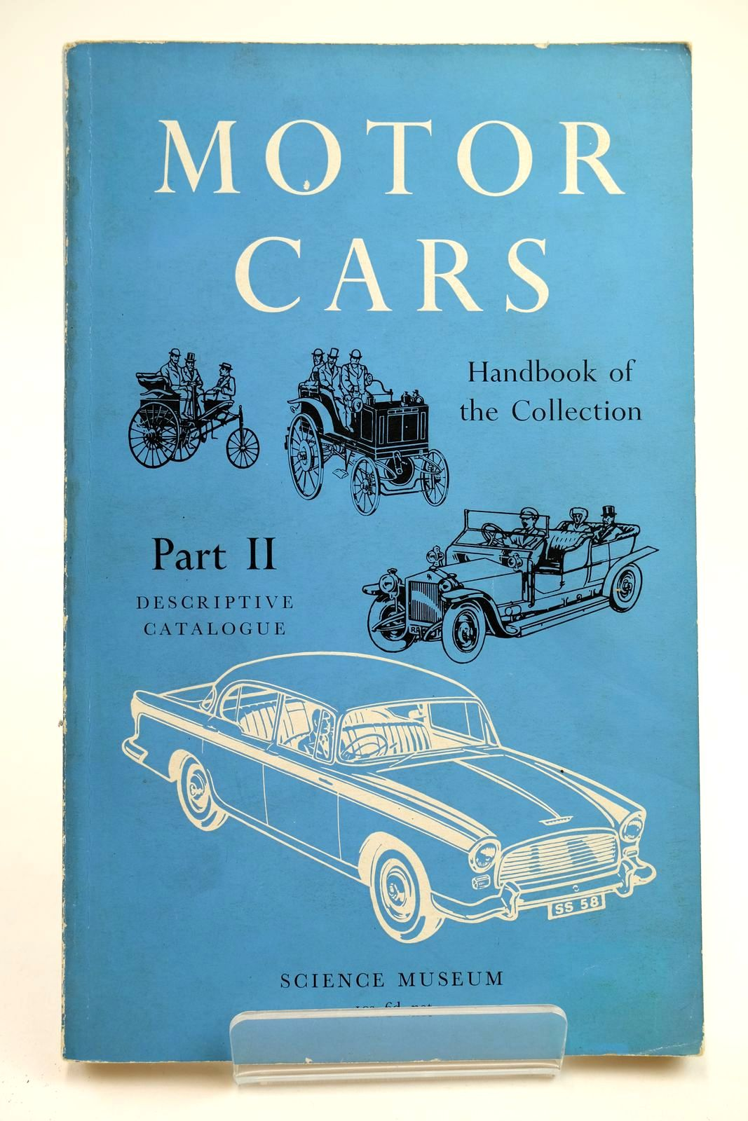 Photo of HANDBOOK OF THE COLLECTION ILLUSTRATING MOTOR CARS PART II- Stock Number: 2132251