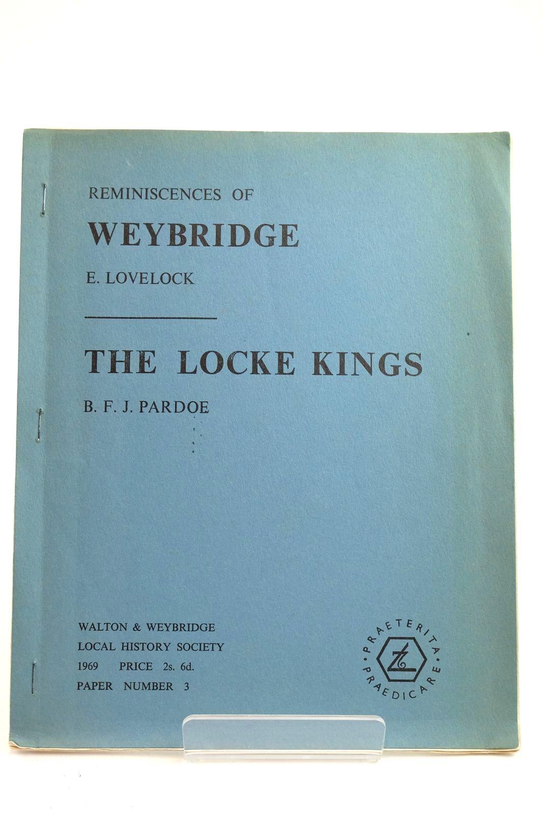 Photo of REMINISCENCES OF WEYBRIDGE AND THE LOCKE KINGS- Stock Number: 2132252
