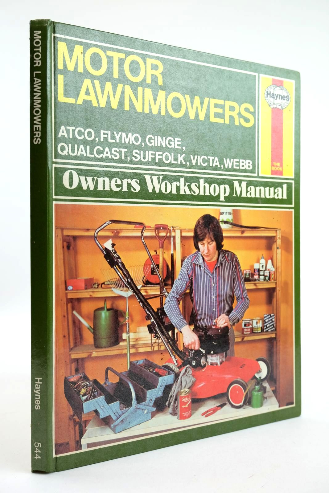 Photo of MOTOR LAWNMOWERS OWNERS WORKSHOP MANUAL- Stock Number: 2132256