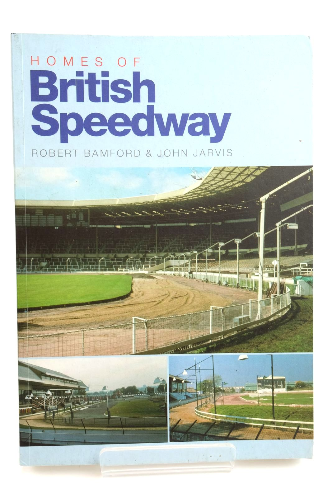 Photo of HOMES OF BRITISH SPEEDWAY written by Bamford, Robert Jarvis, John published by Stadia (STOCK CODE: 2132274)  for sale by Stella & Rose's Books