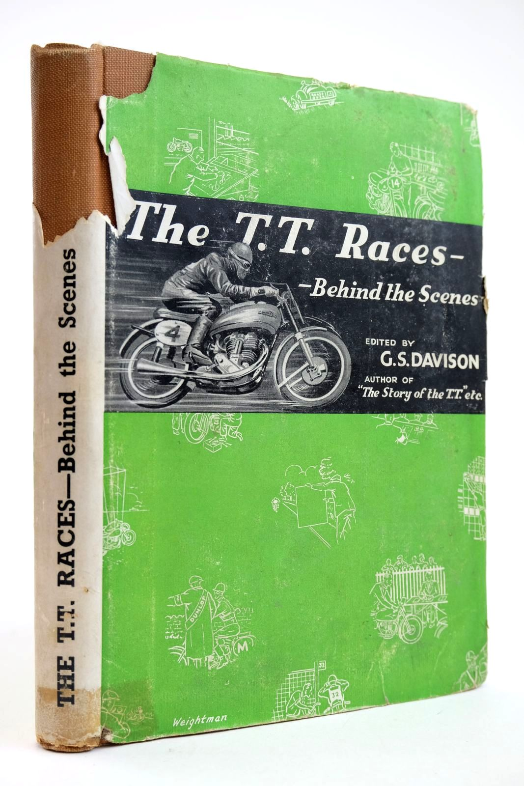 Photo of THE T.T. RACES - BEHIND THE SCENES- Stock Number: 2132279