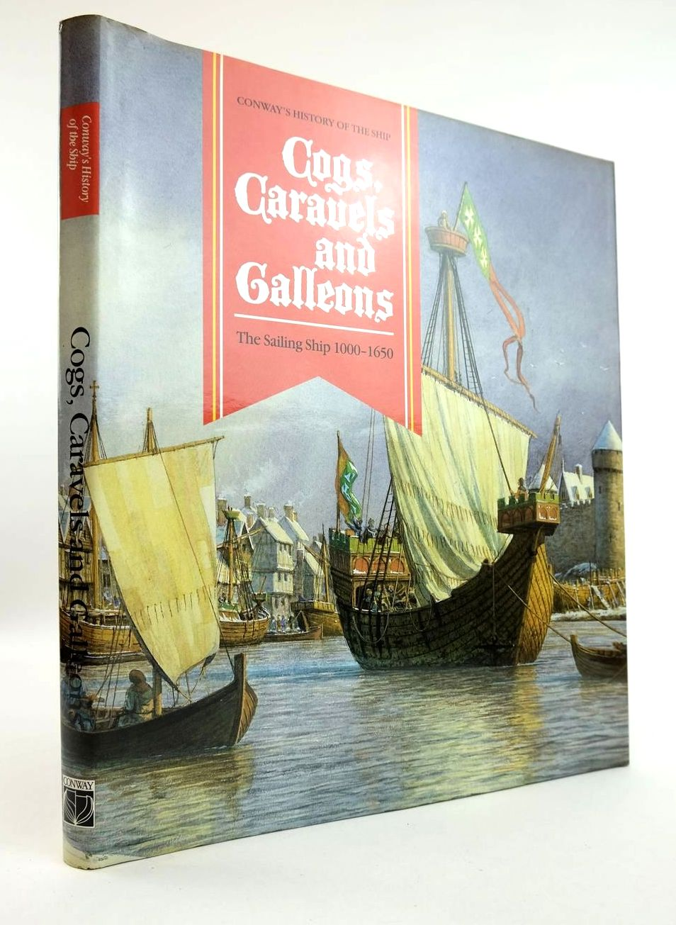 Photo of COGS, CARAVELS AND GALLEONS THE SAILING SHIP 1000-1650 written by Gardiner, Robert et al,  published by Conway Maritime Press (STOCK CODE: 2132350)  for sale by Stella & Rose's Books