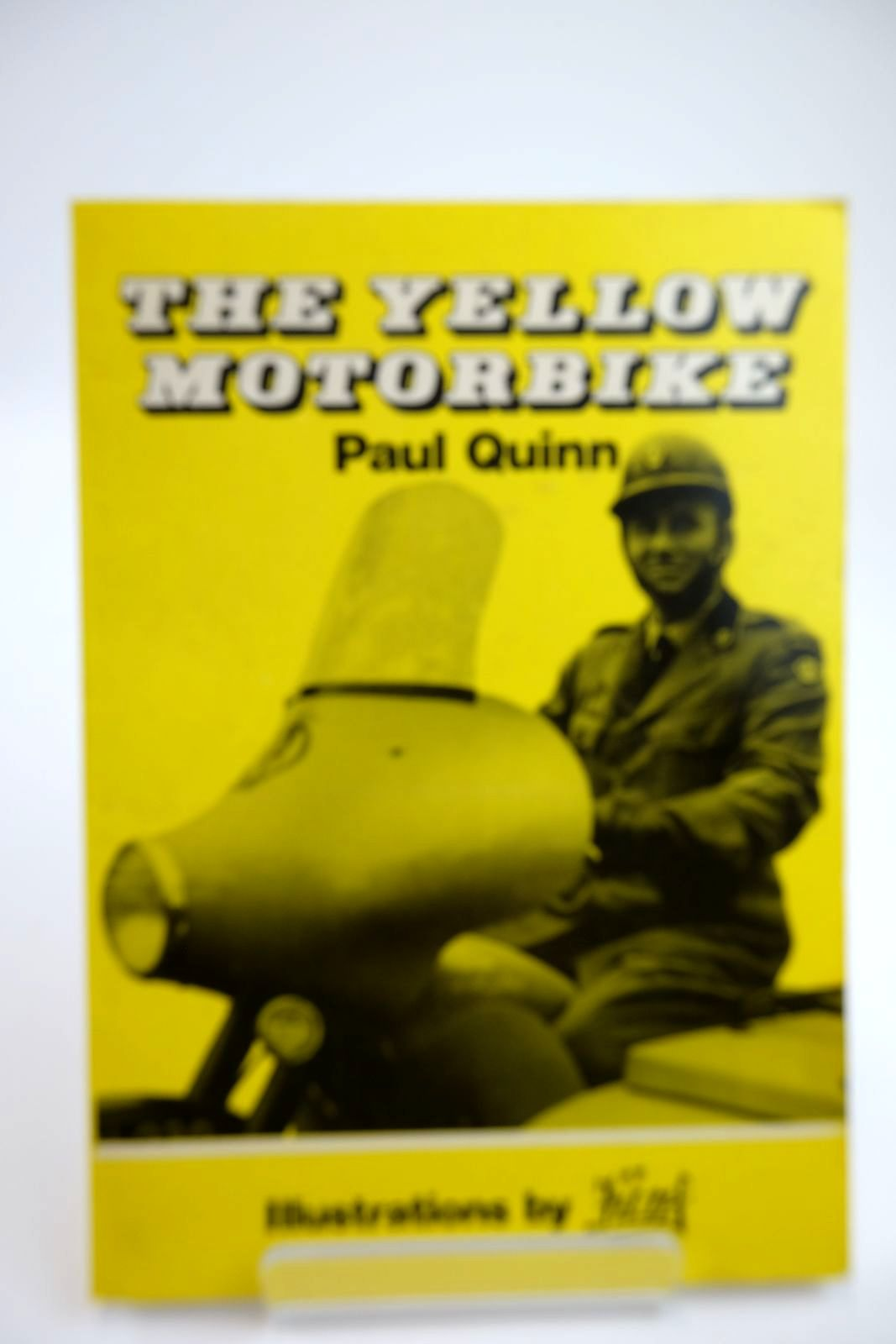 Photo of THE YELLOW MOTORBIKE written by Quinn, Paul illustrated by Funf,  published by Paul Quinn (STOCK CODE: 2132358)  for sale by Stella & Rose's Books
