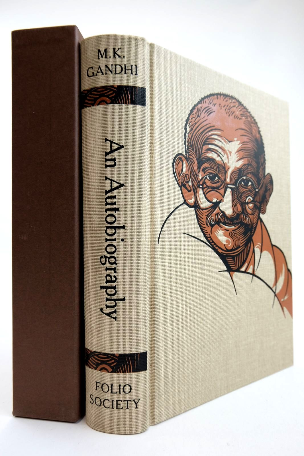 Photo of M.K. GANDHI AN AUTOBIOGRAPHY OR THE STORY OF MY EXPERIMENTS WITH TRUTH- Stock Number: 2132376