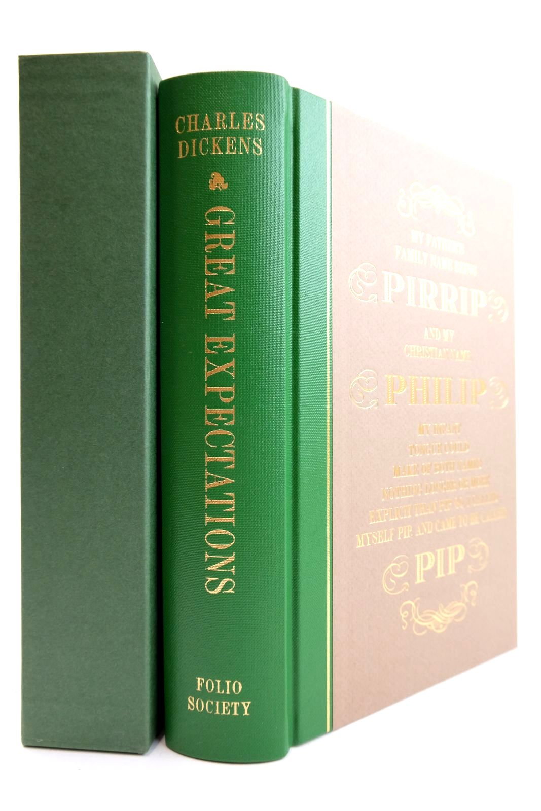 Photo of GREAT EXPECTATIONS written by Dickens, Charles Taylor, D.J. illustrated by Stone, Marcus published by Folio Society (STOCK CODE: 2132378)  for sale by Stella & Rose's Books
