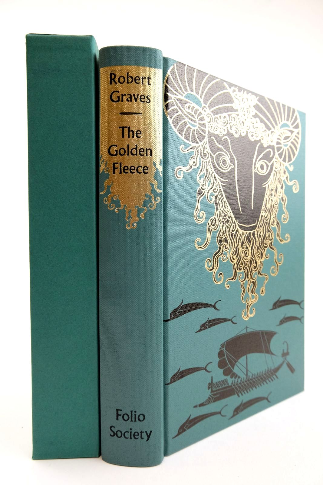 Photo of THE GOLDEN FLEECE written by Graves, Robert Norfolk, Lawrence illustrated by Baker, Grahame published by Folio Society (STOCK CODE: 2132392)  for sale by Stella & Rose's Books