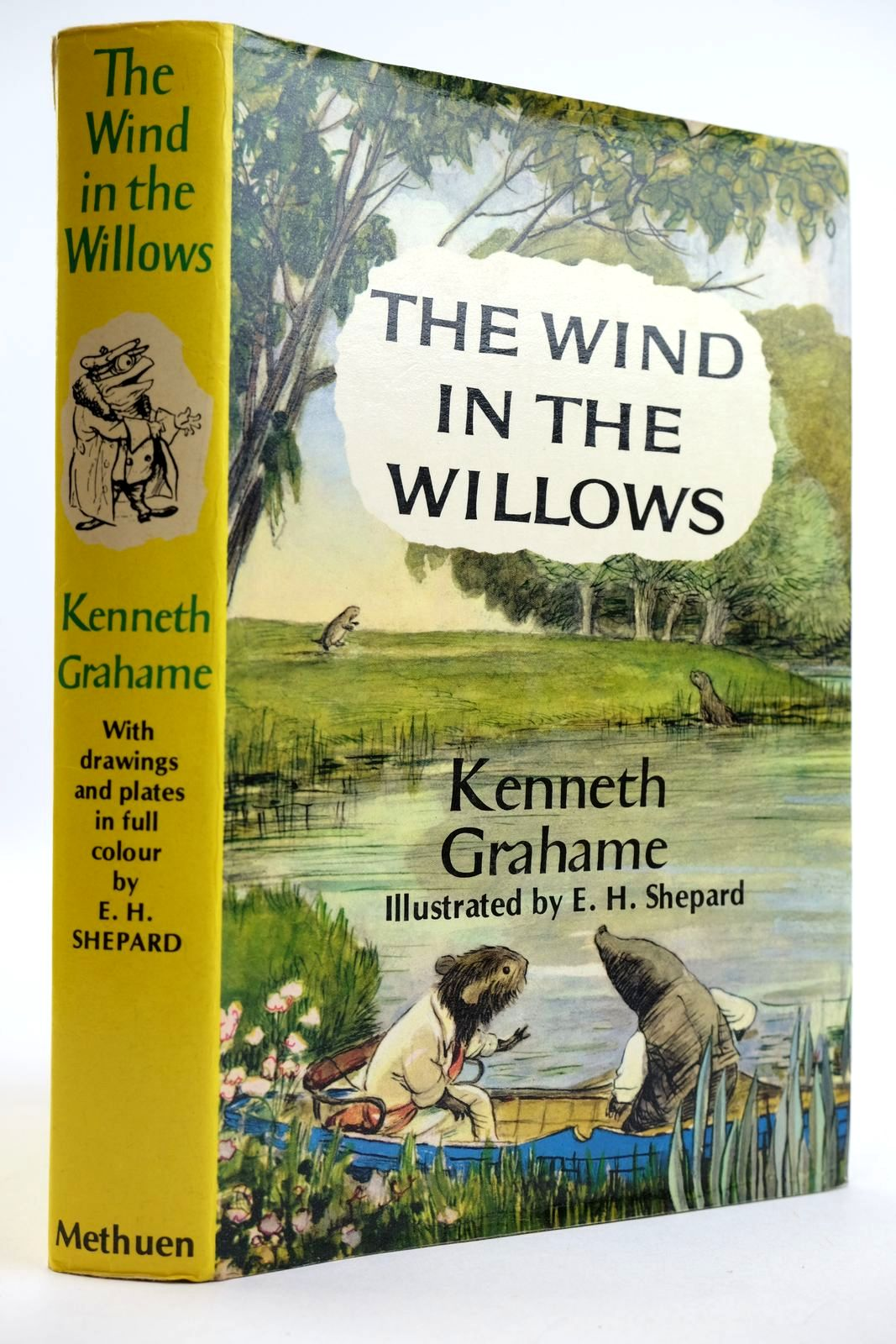 Photo of THE WIND IN THE WILLOWS written by Grahame, Kenneth illustrated by Shepard, E.H. published by Methuen Children's Books (STOCK CODE: 2132404)  for sale by Stella & Rose's Books
