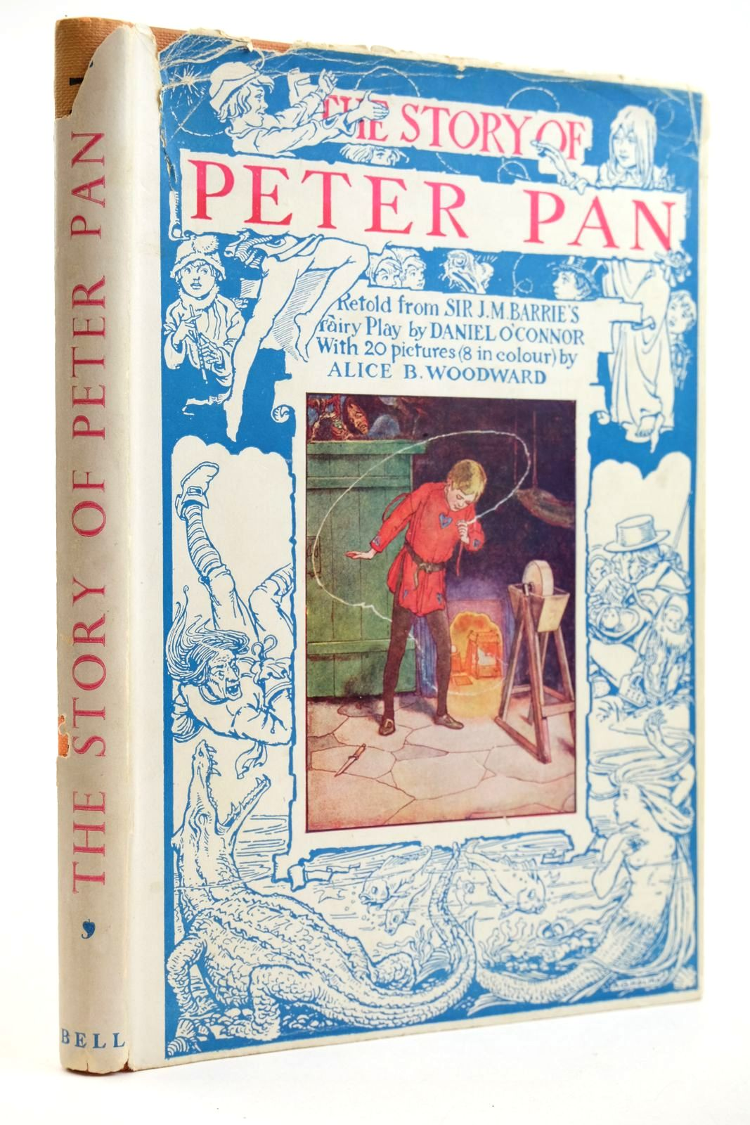 Photo of THE STORY OF PETER PAN written by Barrie, J.M. O'Connor, Daniel illustrated by Woodward, Alice B. published by G. Bell & Sons Ltd. (STOCK CODE: 2132405)  for sale by Stella & Rose's Books