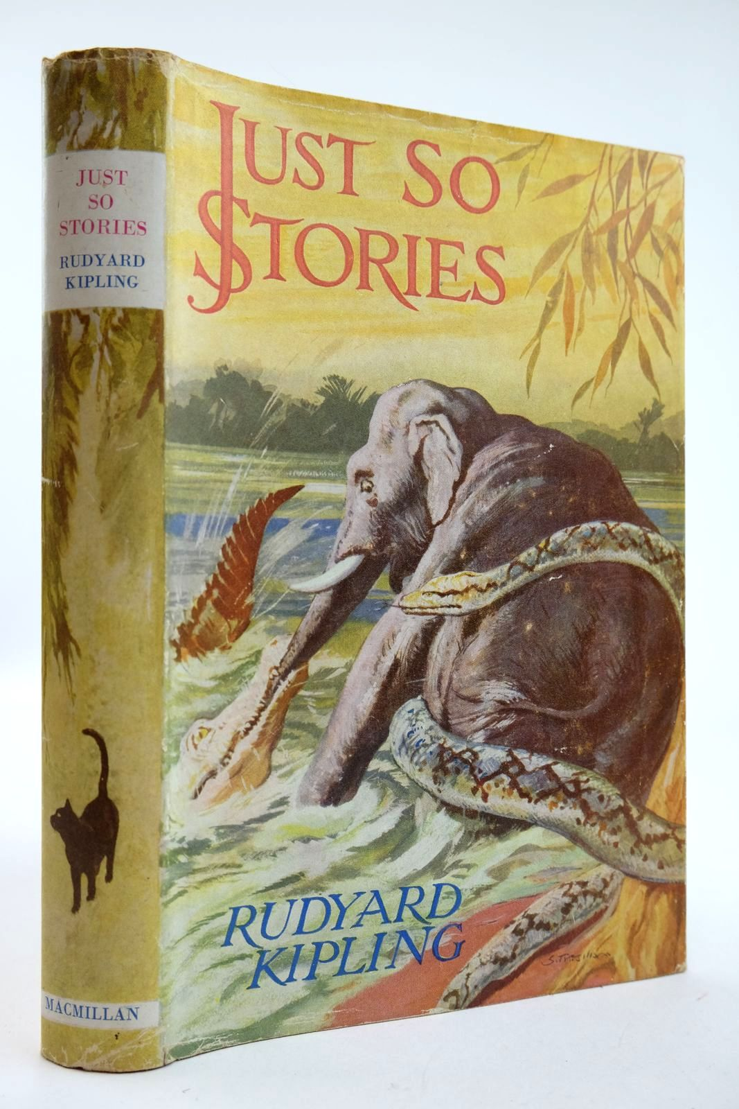 Photo of JUST SO STORIES written by Kipling, Rudyard illustrated by Kipling, Rudyard published by Macmillan & Co. Ltd. (STOCK CODE: 2132416)  for sale by Stella & Rose's Books
