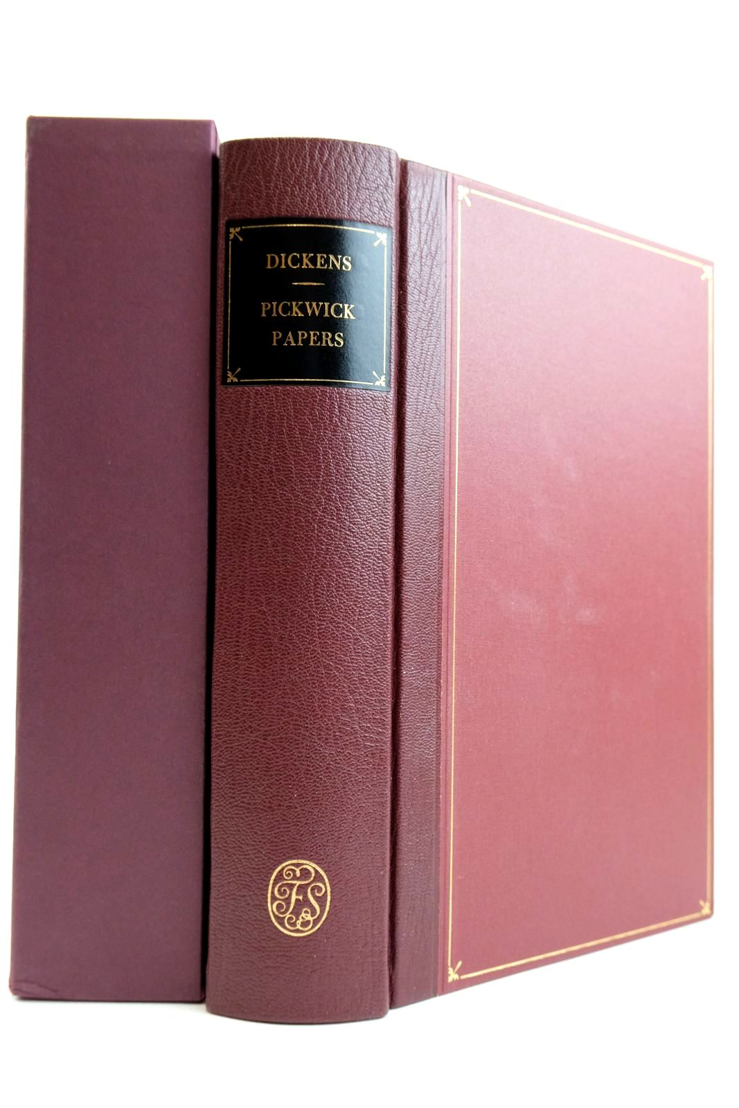 Photo of THE POSTHUMOUS PAPERS OF THE PICKWICK CLUB written by Dickens, Charles illustrated by Seymour, R. Buss, R.W. Phiz, published by Folio Society (STOCK CODE: 2132421)  for sale by Stella & Rose's Books