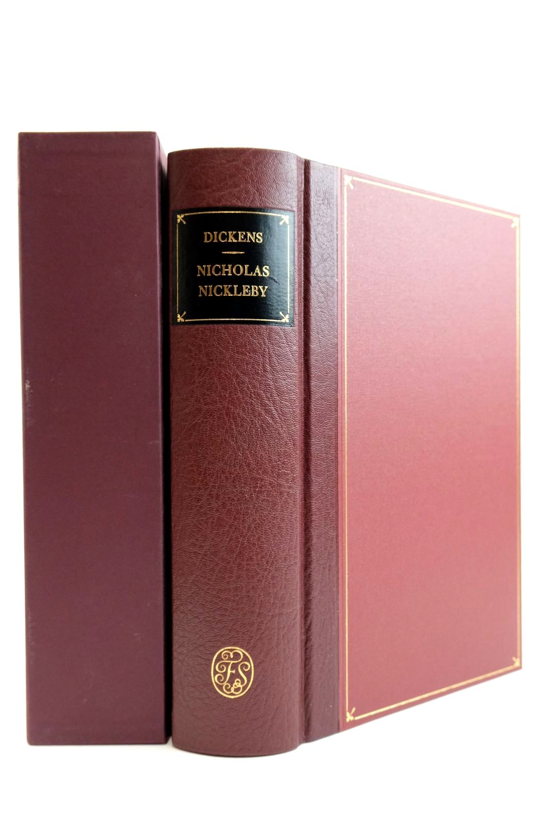 Photo of NICHOLAS NICKLEBY written by Dickens, Charles Callow, Simon illustrated by Phiz,  published by Folio Society (STOCK CODE: 2132429)  for sale by Stella & Rose's Books