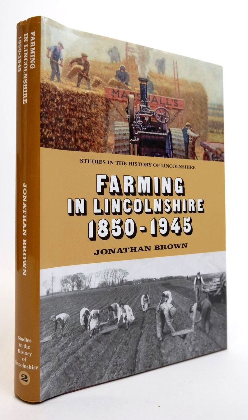 Photo of FARMING IN LINCOLNSHIRE 1850-1945 written by Brown, Jonathan published by History Of Lincolnshire Committee (STOCK CODE: 2132461)  for sale by Stella & Rose's Books