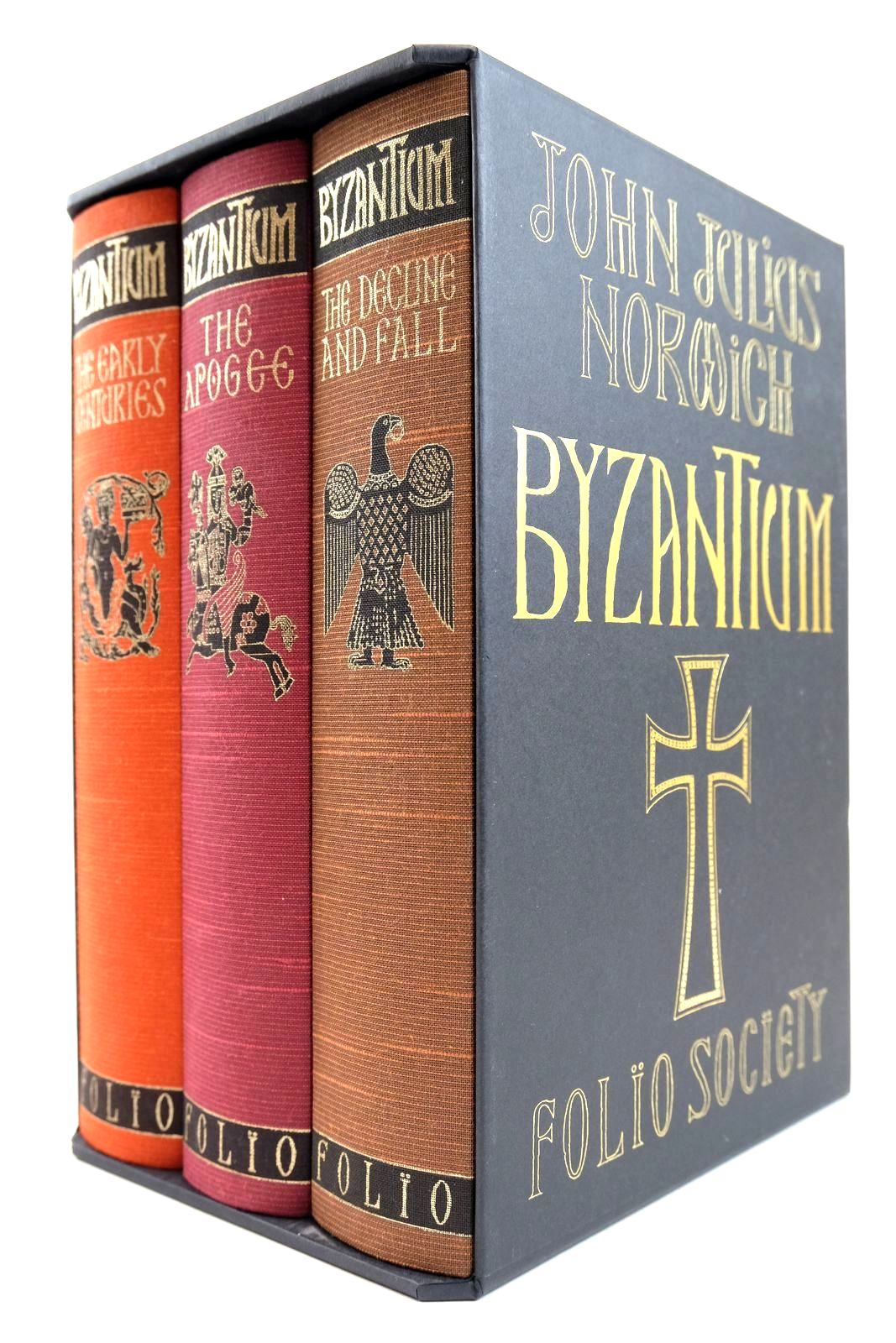 Photo of BYZANTIUM (3 VOLUMES) written by Norwich, John Julius published by Folio Society (STOCK CODE: 2132466)  for sale by Stella & Rose's Books