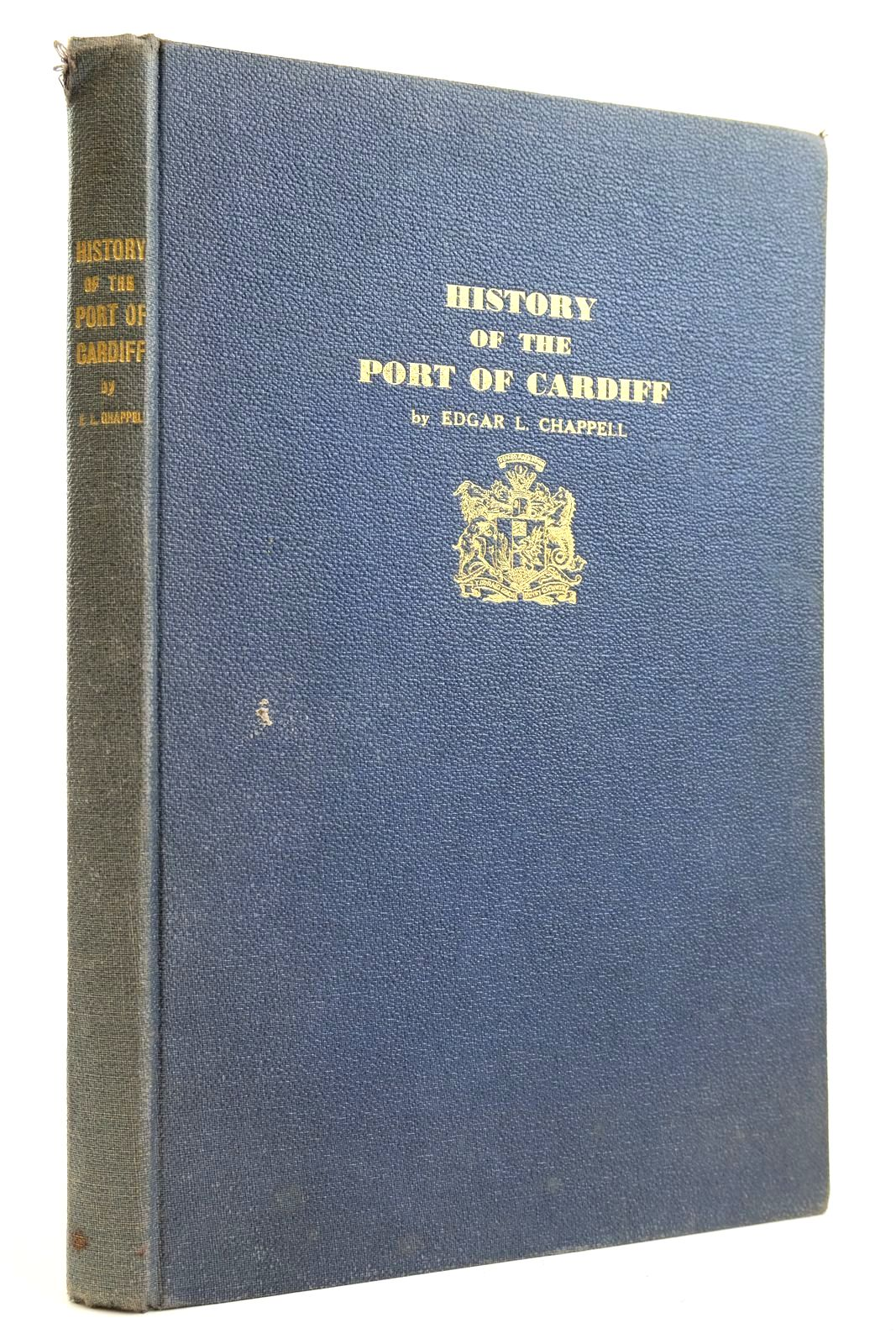 Photo of HISTORY OF THE PORT OF CARDIFF written by Chappell, Edgar L. published by Priory Press Limited (STOCK CODE: 2132490)  for sale by Stella & Rose's Books