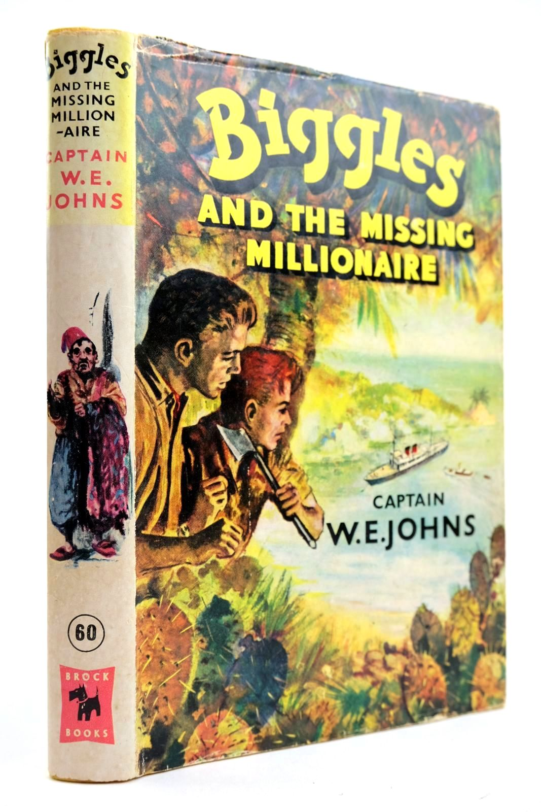 Photo of BIGGLES AND THE MISSING MILLIONAIRE written by Johns, W.E. illustrated by Stead, Leslie published by Brockhampton Press Ltd. (STOCK CODE: 2132492)  for sale by Stella & Rose's Books