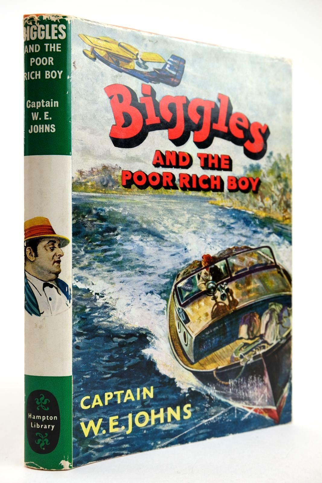 Photo of BIGGLES AND THE POOR RICH BOY written by Johns, W.E. illustrated by Stead, Leslie published by Brockhampton Press Ltd. (STOCK CODE: 2132495)  for sale by Stella & Rose's Books