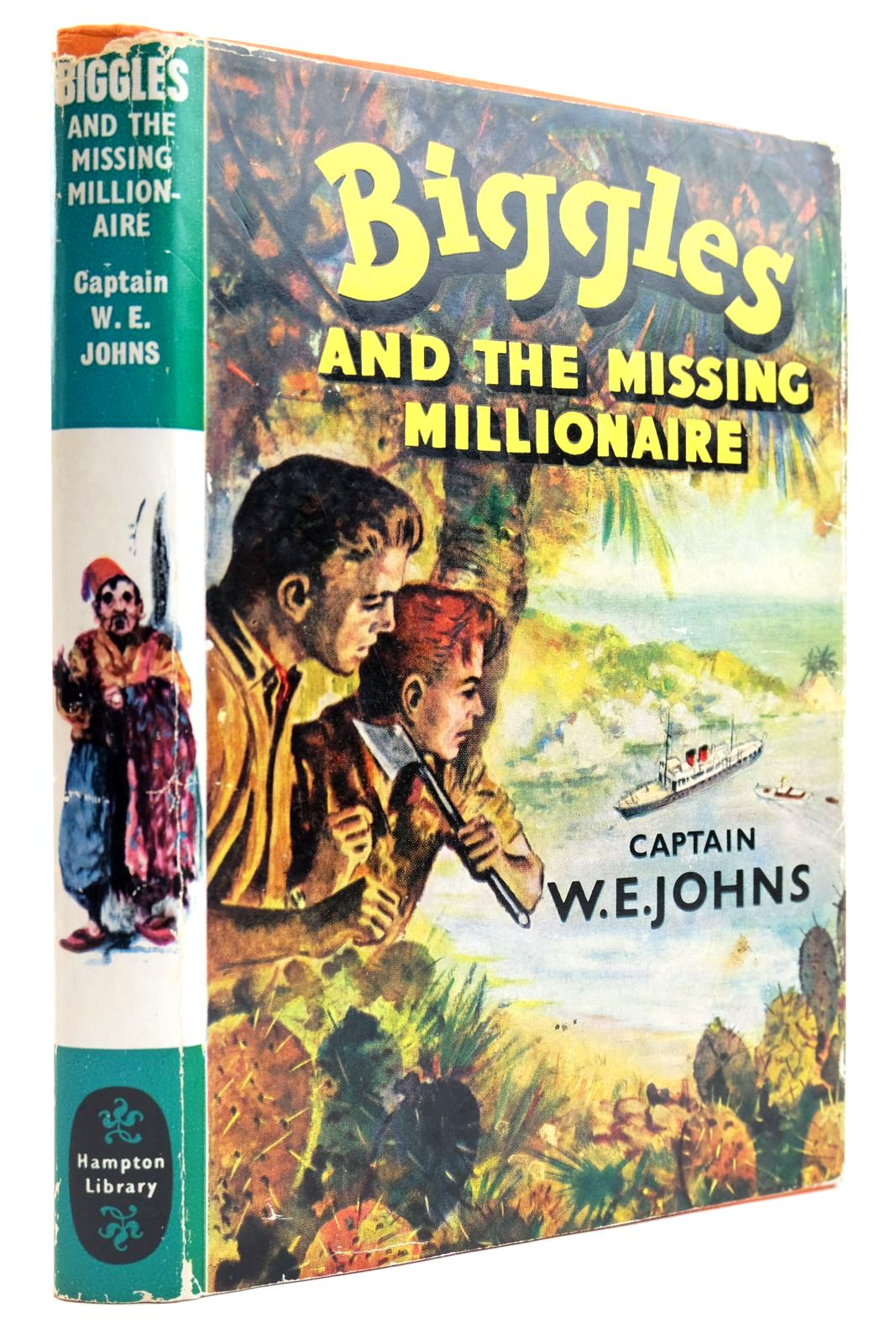 Photo of BIGGLES AND THE MISSING MILLIONAIRE written by Johns, W.E. published by Brockhampton Press (STOCK CODE: 2132496)  for sale by Stella & Rose's Books