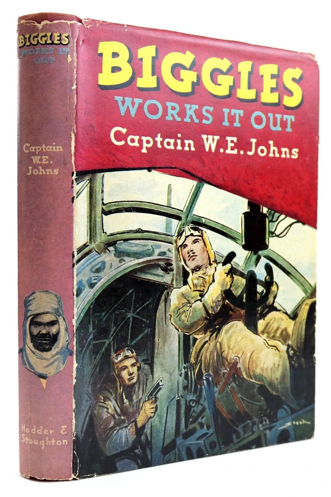 Photo of BIGGLES WORKS IT OUT written by Johns, W.E. illustrated by Stead,  published by Hodder & Stoughton (STOCK CODE: 2132497)  for sale by Stella & Rose's Books