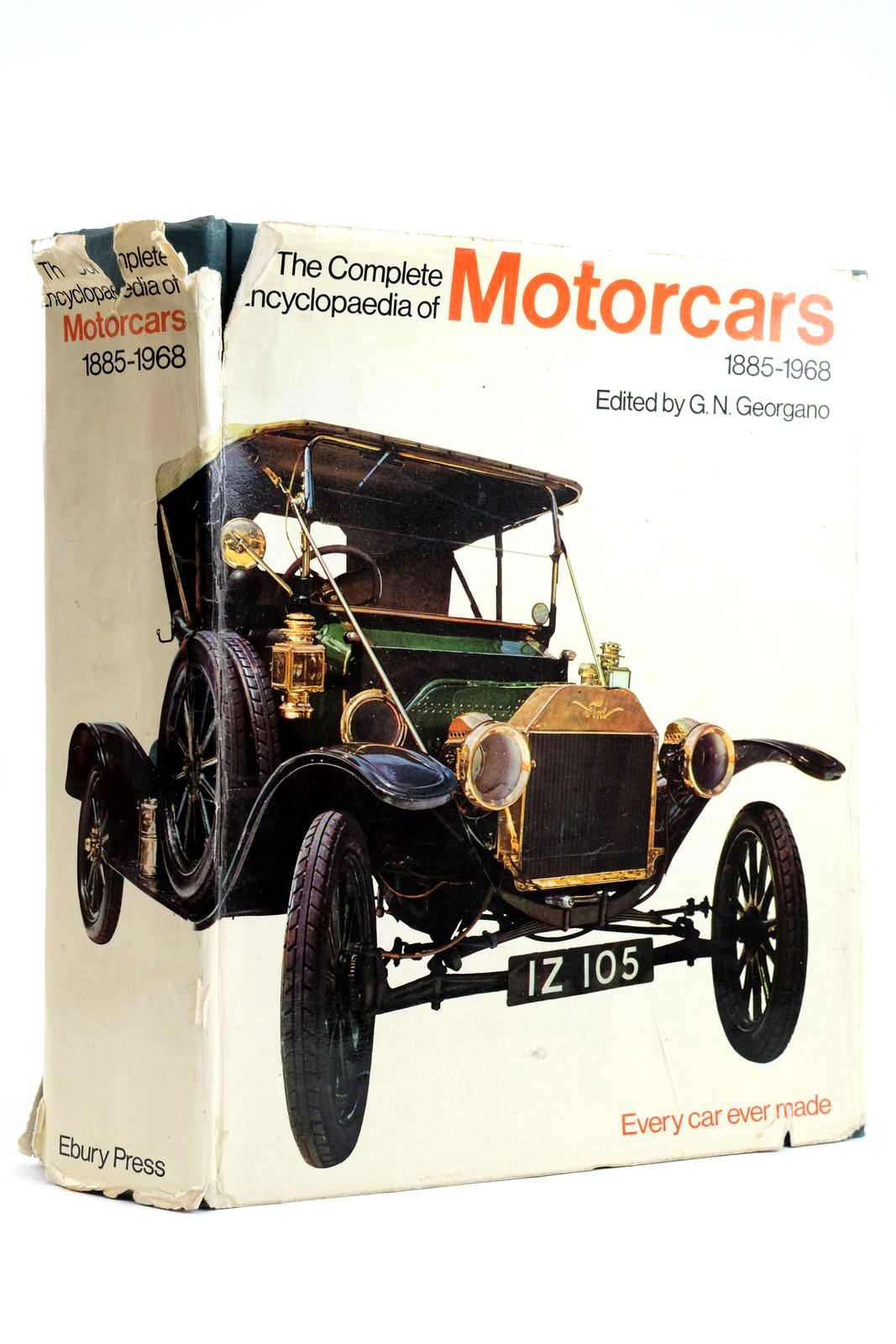 Photo of THE COMPLETE ENCYCLOPAEDIA OF MOTORCARS 1885 - 1968- Stock Number: 2132507
