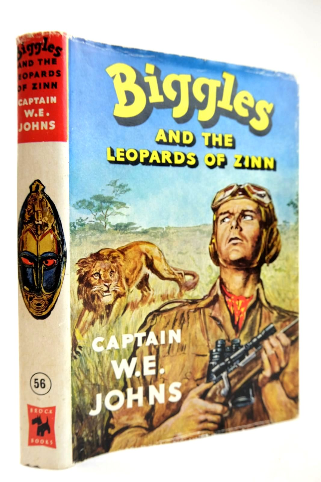 Photo of BIGGLES AND THE LEOPARDS OF ZINN written by Johns, W.E. illustrated by Stead, Leslie published by Brockhampton Press (STOCK CODE: 2132520)  for sale by Stella & Rose's Books