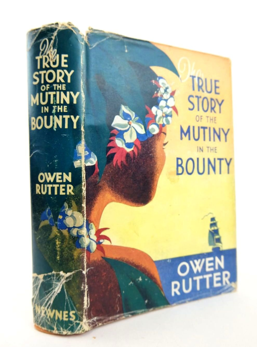 Photo of THE TRUE STORY OF THE MUTINY ON THE BOUNTY- Stock Number: 2132535