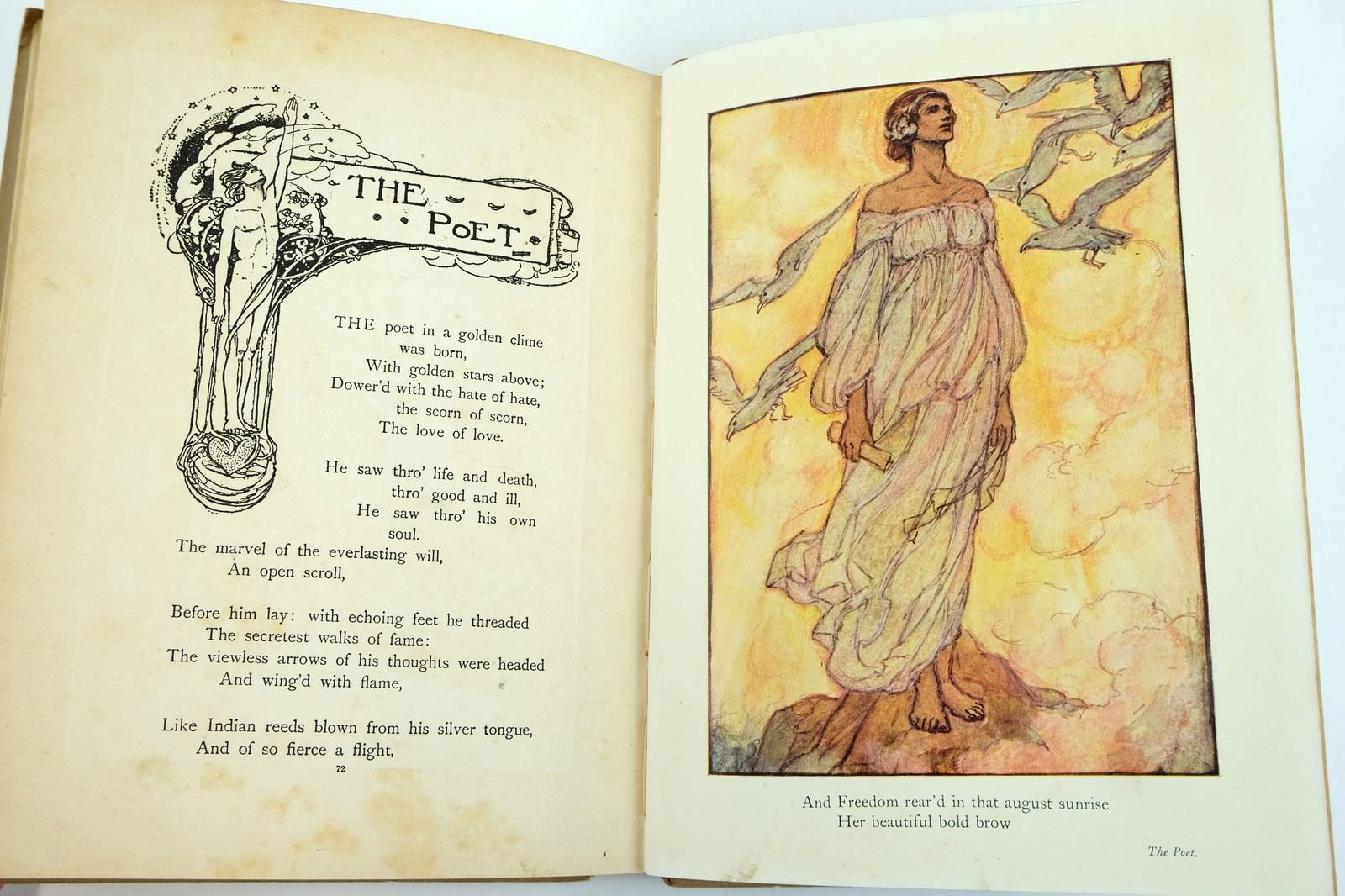 Photo of TENNYSON'S GUINEVERE AND OTHER POEMS written by Tennyson, Alfred illustrated by Harrison, Florence published by Blackie & Son Ltd. (STOCK CODE: 2132542)  for sale by Stella & Rose's Books