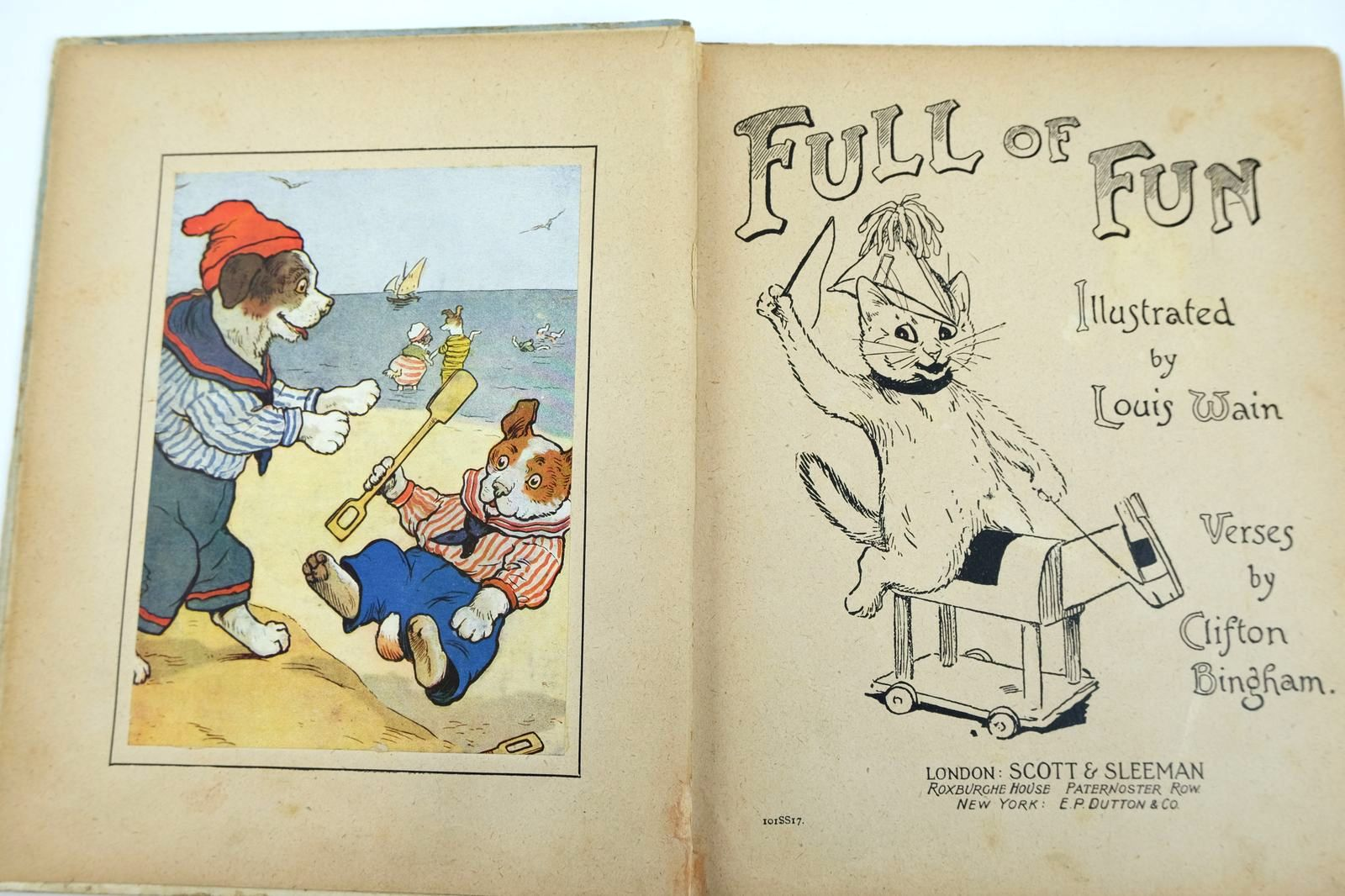 Photo of FULL OF FUN written by Bingham, Clifton illustrated by Wain, Louis published by Scott & Sleeman (STOCK CODE: 2132546)  for sale by Stella & Rose's Books