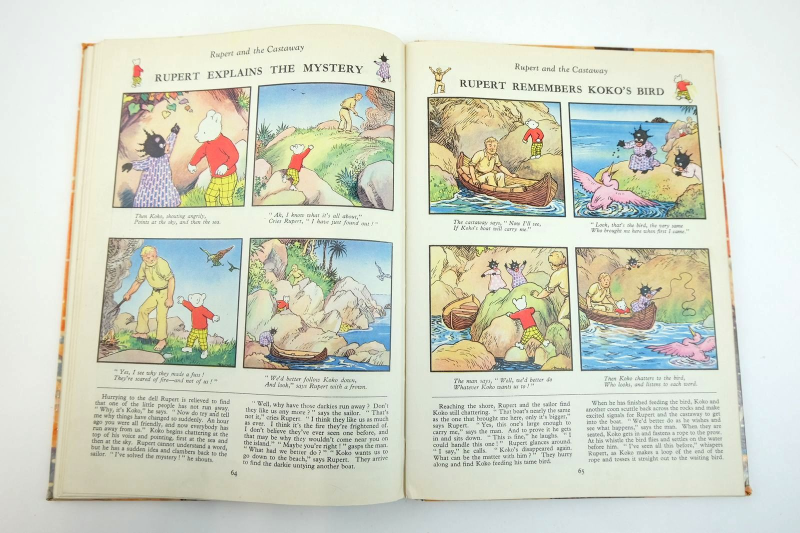 Photo of RUPERT ANNUAL 1954 - THE NEW RUPERT written by Bestall, Alfred illustrated by Bestall, Alfred published by Daily Express (STOCK CODE: 2132547)  for sale by Stella & Rose's Books