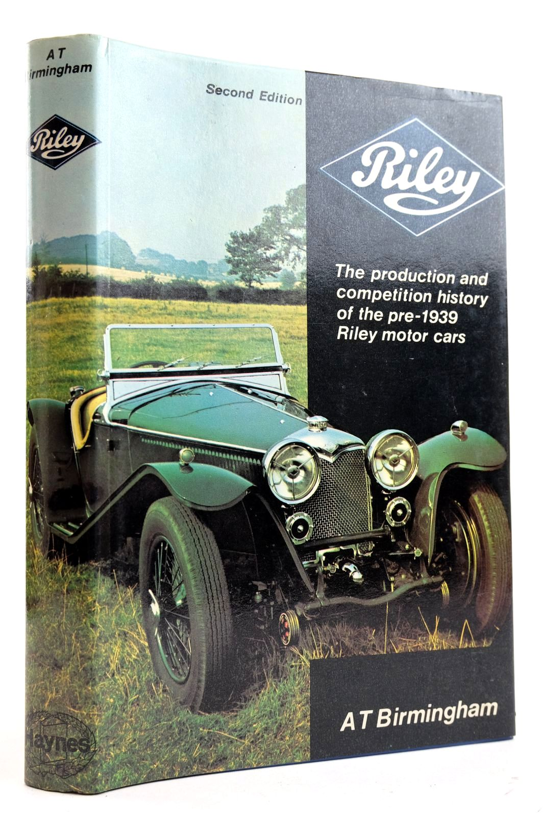 Photo of RILEY THE PRODUCTION AND COMPETITION HISTORY OF THE PRE-1939 RILEY MOTOR CARS. written by Birmingham, A.T. published by Haynes Publishing Group (STOCK CODE: 2132563)  for sale by Stella & Rose's Books