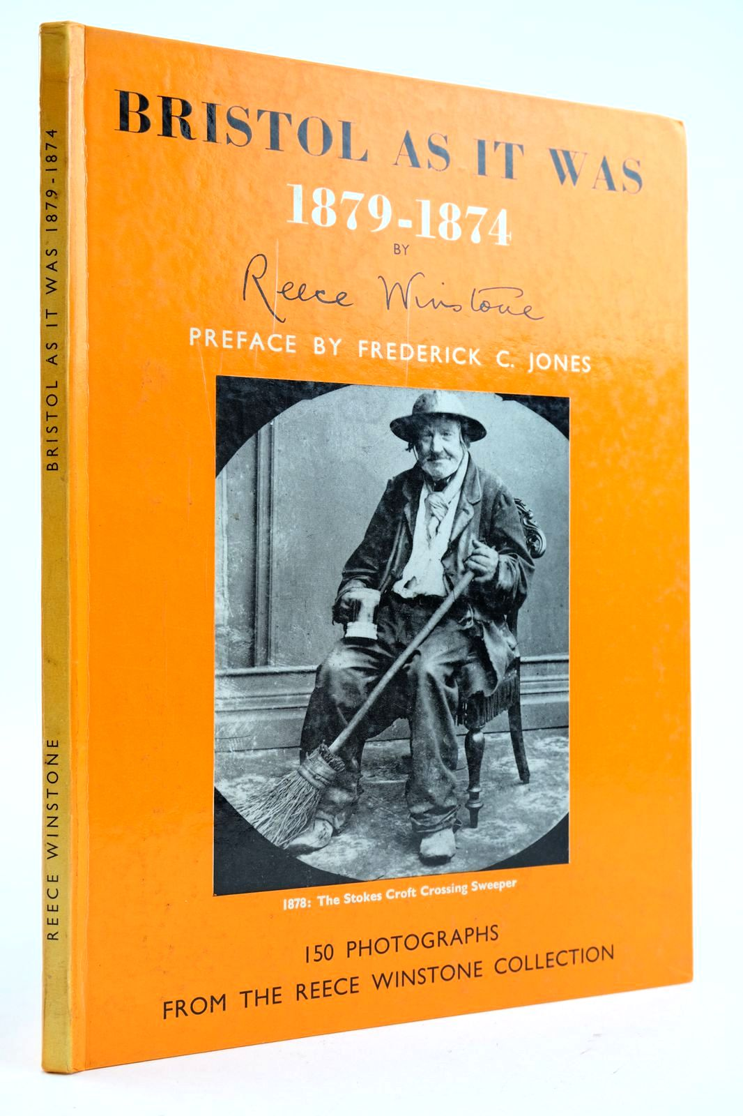 Photo of BRISTOL AS IT WAS 1879-1874 written by Winstone, Reece published by Reece Winstone (STOCK CODE: 2132577)  for sale by Stella & Rose's Books