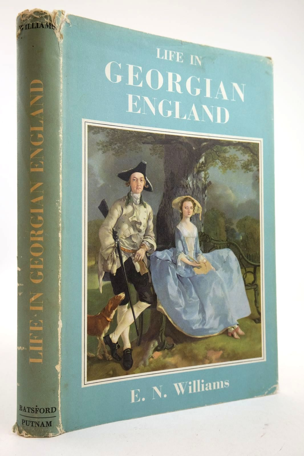 Photo of LIFE IN GEORGIAN ENGLAND written by Williams, E.N. published by B.T. Batsford Ltd. (STOCK CODE: 2132601)  for sale by Stella & Rose's Books
