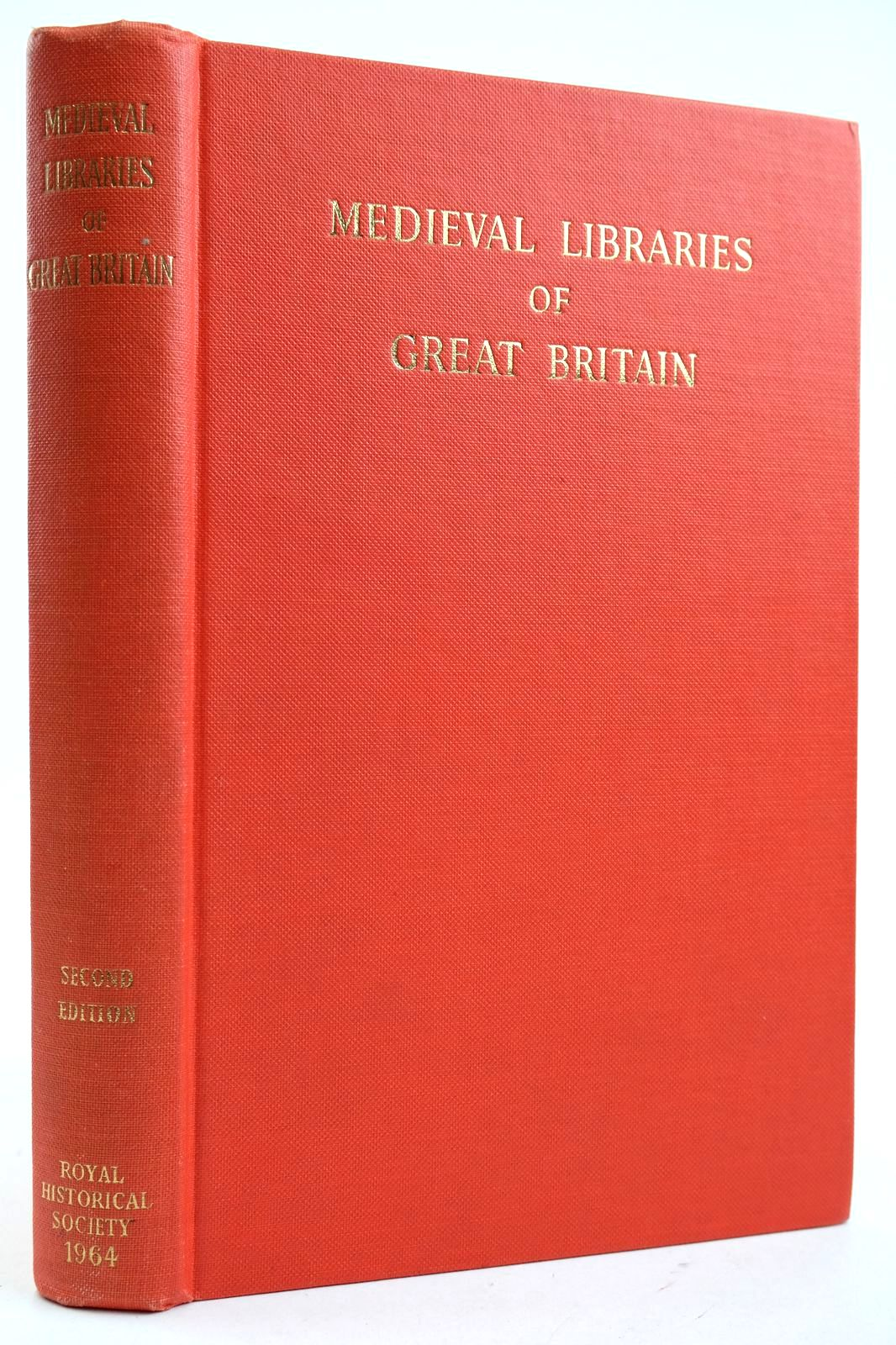 Photo of MEDIEVAL LIBRARIES OF GREAT BRITAIN A LIST OF SURVIVING BOOKS- Stock Number: 2132612