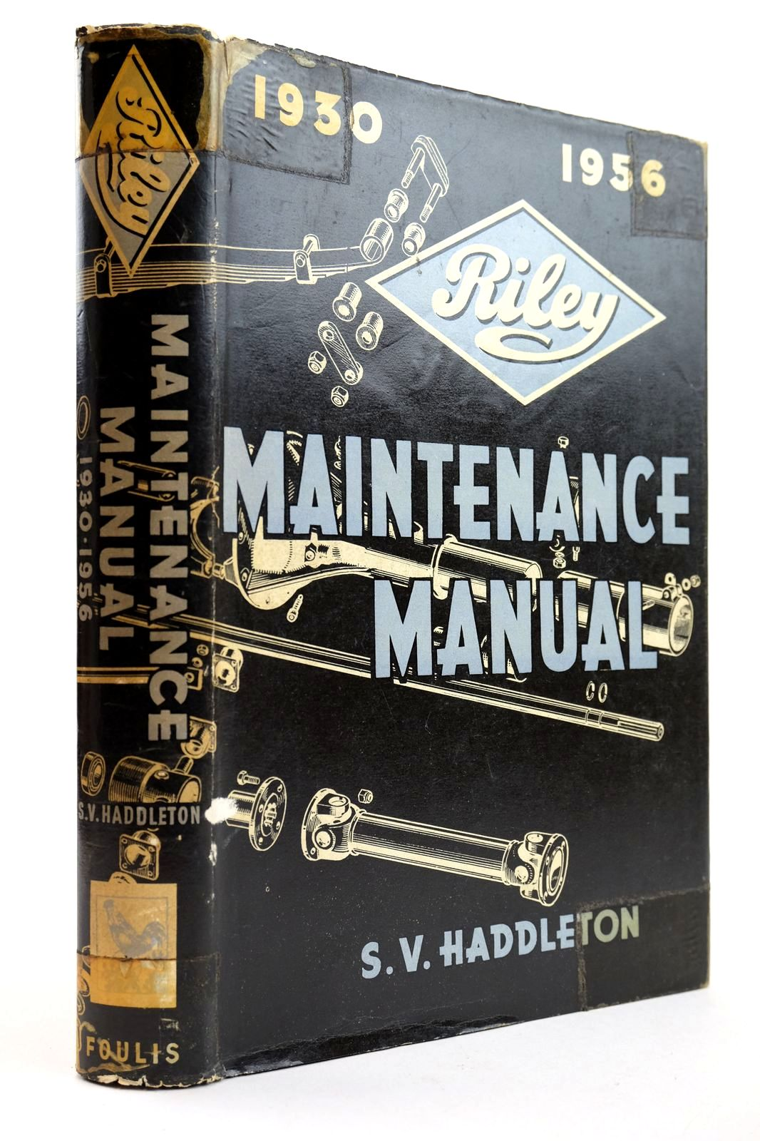 Photo of RILEY MAINTENANCE MANUAL 1930-1956- Stock Number: 2132621