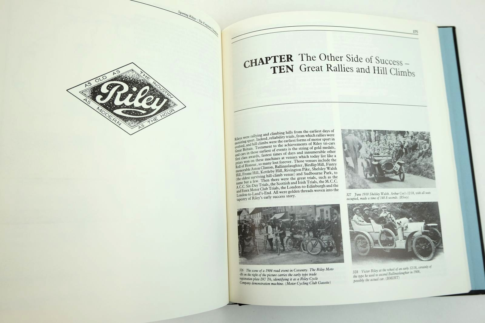 Photo of SPORTING RILEYS: THE FORGOTTEN CHAMPIONS written by Styles, David G. published by Dalton Watson (STOCK CODE: 2132623)  for sale by Stella & Rose's Books
