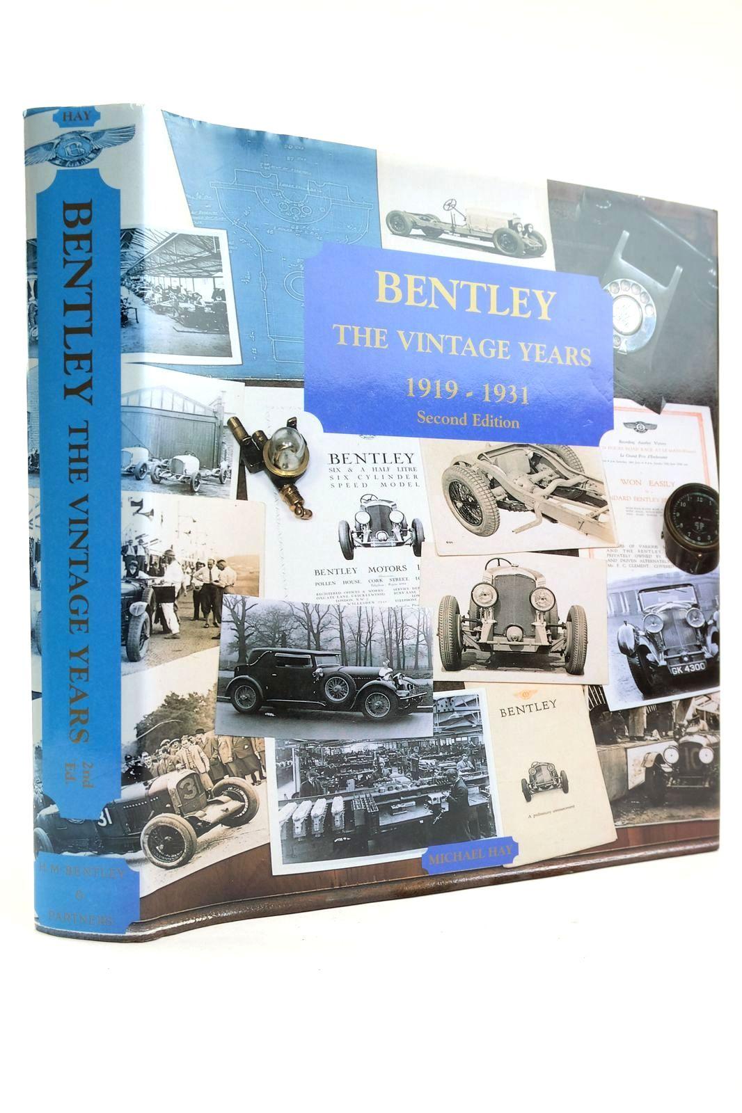Photo of BENTLEY THE VINTAGE YEARS 1919-1931