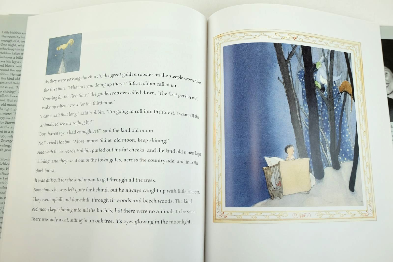 Photo of LITTLE HOBBIN written by Storm, Theodor illustrated by Zwerger, Lisbeth published by North South Books (STOCK CODE: 2132637)  for sale by Stella & Rose's Books