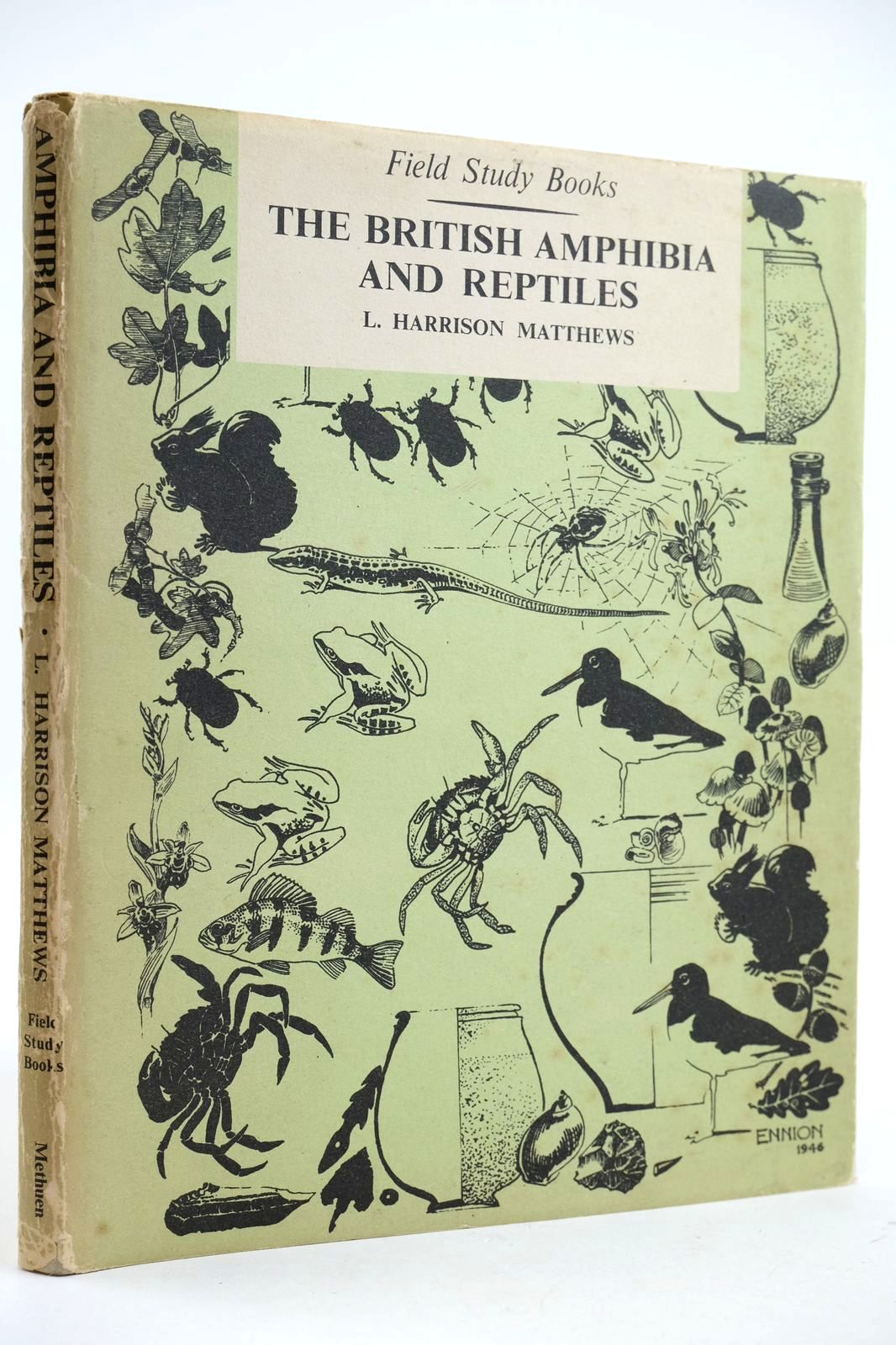 Photo of THE BRITISH AMPHIBIA AND REPTILES- Stock Number: 2132669