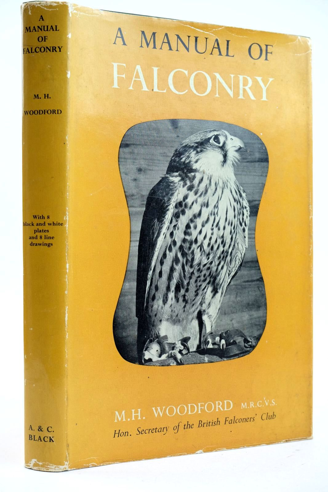 Photo of A MANUAL OF FALCONRY written by Woodford, Michael published by Adam & Charles Black (STOCK CODE: 2132676)  for sale by Stella & Rose's Books