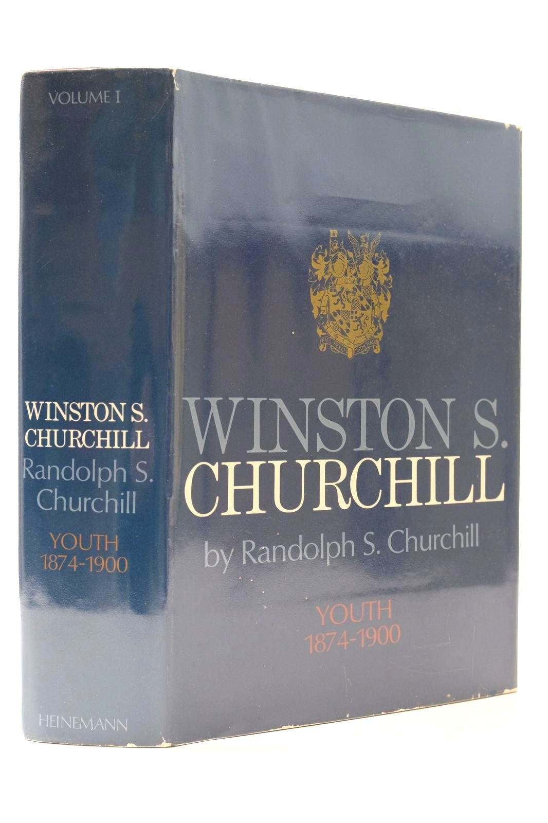 Photo of WINSTON S. CHURCHILL VOLUME I YOUTH 1874-1900- Stock Number: 2132683