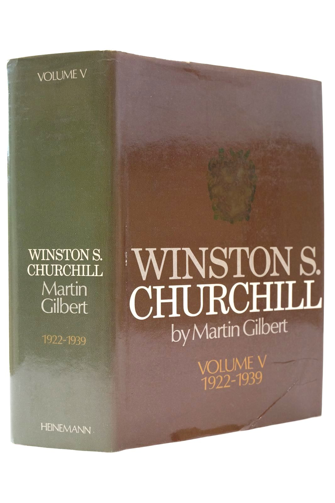 Photo of WINSTON S. CHURCHILL VOLUME V 1922-1939 written by Gilbert, Martin published by Heinemann (STOCK CODE: 2132687)  for sale by Stella & Rose's Books
