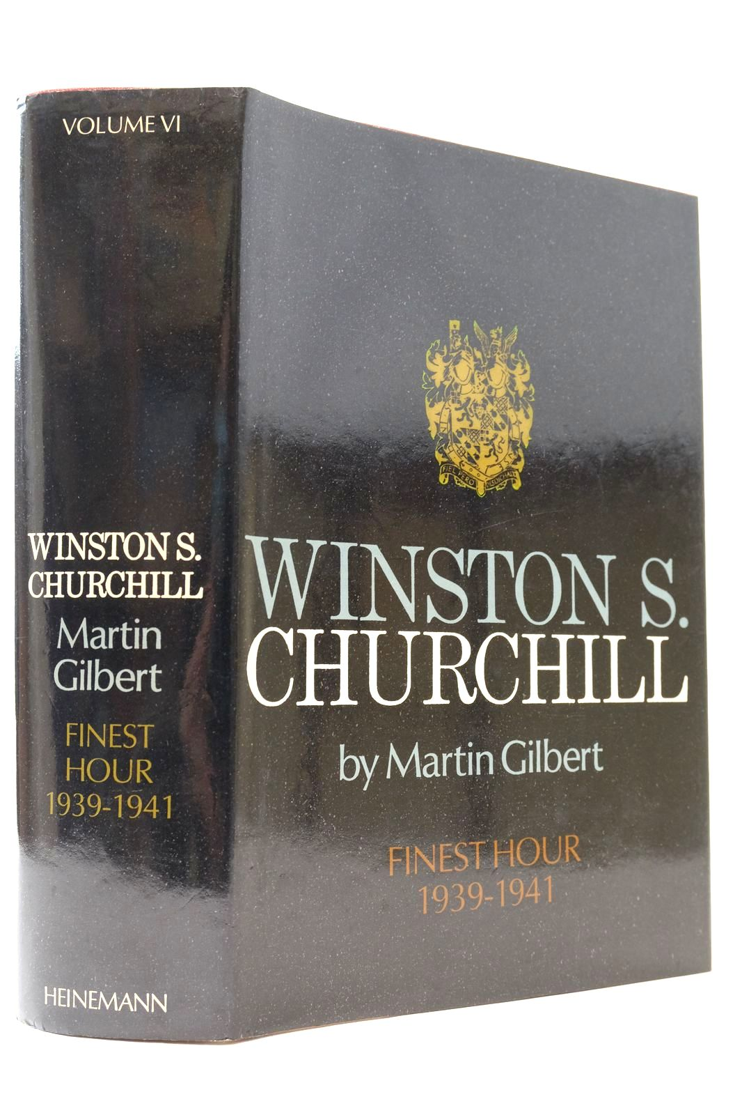 Photo of WINSTON S. CHURCHILL VOLUME VI FINEST HOUR 1939-1941- Stock Number: 2132688