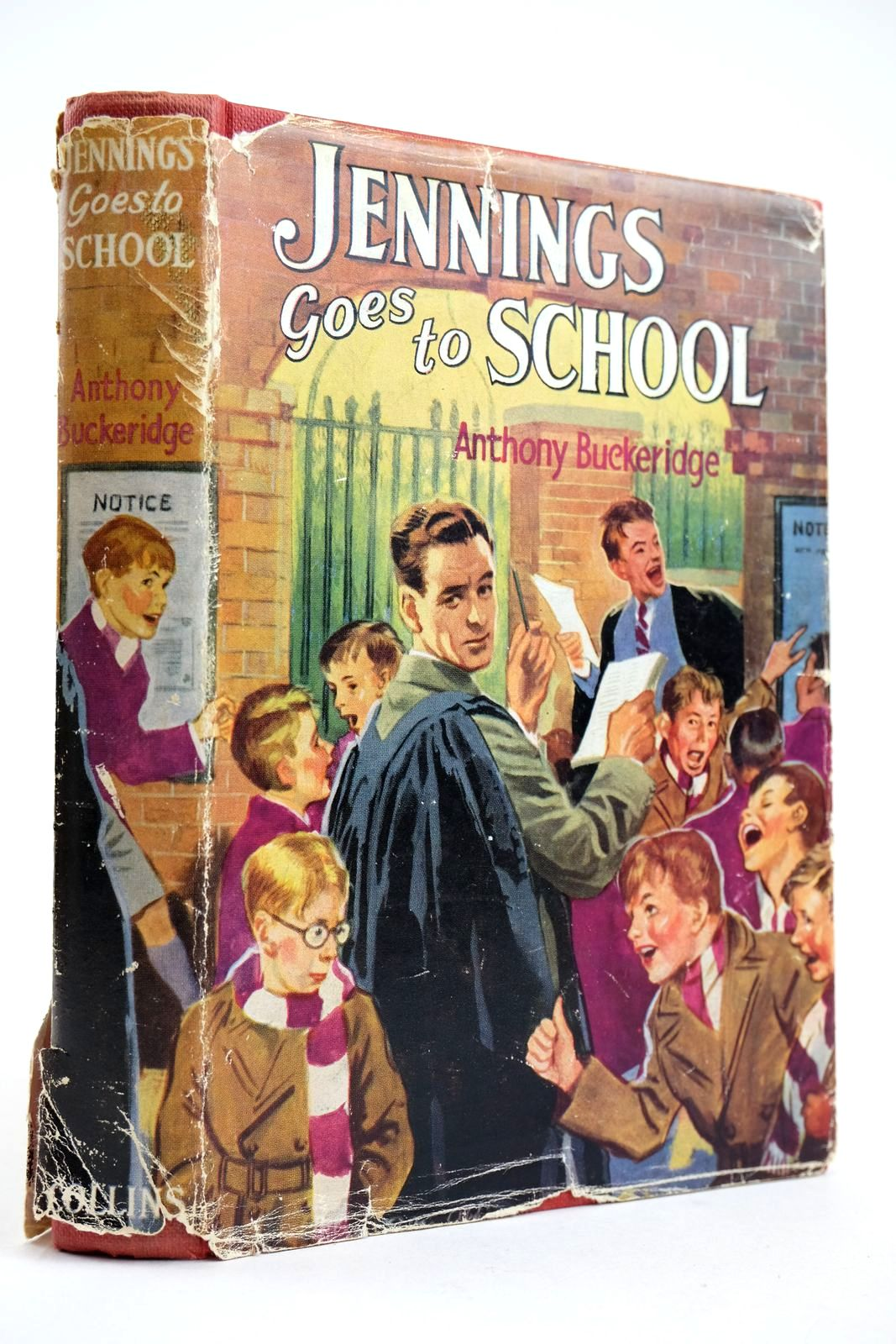Photo of JENNINGS GOES TO SCHOOL written by Buckeridge, Anthony published by Collins (STOCK CODE: 2132710)  for sale by Stella & Rose's Books