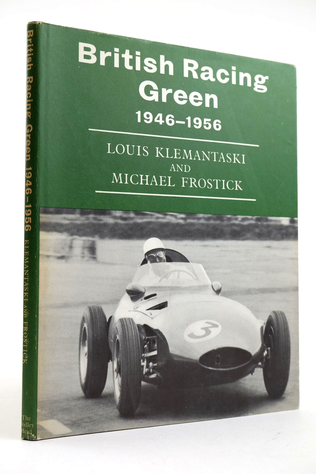 Photo of BRITISH RACING GREEN 1946-1956 written by Klemantaski, Louis Frostick, Michael published by The Bodley Head (STOCK CODE: 2132729)  for sale by Stella & Rose's Books